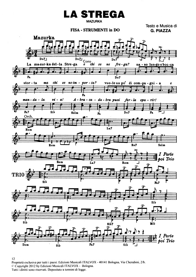 Scaricare musica mazurka